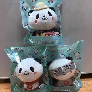 ラクテン(Rakuten)の楽天お買い物パンダ3つセット(キャラクターグッズ)