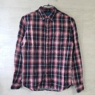 RAGEBLUE レイジブルー チェックシャツ ネルシャツ M 黒 赤