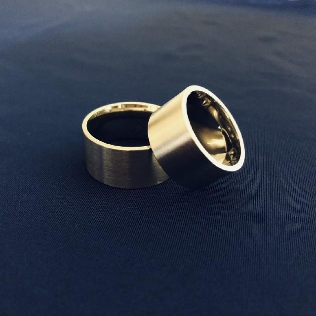 【大ヒット商品】極太 平打リング ワイド 【16サイズ】他サイズ有り メンズのアクセサリー(リング(指輪))の商品写真