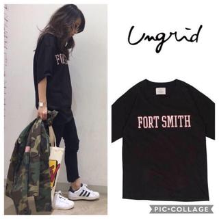アングリッド(Ungrid)のUngrid*FORT SMITH tee(Tシャツ(半袖/袖なし))