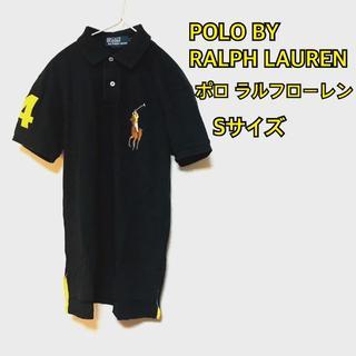 ポロラルフローレン(POLO RALPH LAUREN)のポロ ラルフローレン ポロシャツ ビッグポニー 黒 Sサイズ(ポロシャツ)