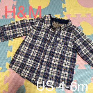 エイチアンドエム(H&M)の【値下げ!】H&M ベビー服 ボタンシャツ(その他)