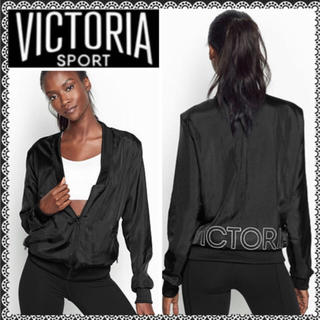 ヴィクトリアズシークレット(Victoria's Secret)のサテントラックジャケット(ノーカラージャケット)