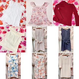 ジャスグリッティー(JUSGLITTY)の新品 美品 アプワイザー ブランド服 まとめ売り 36点 (セット/コーデ)