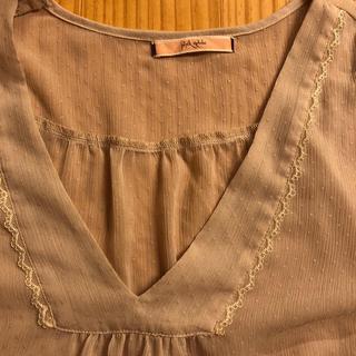 ピンクアドべ(PINK ADOBE)の五分丈ブラウス(シャツ/ブラウス(半袖/袖なし))