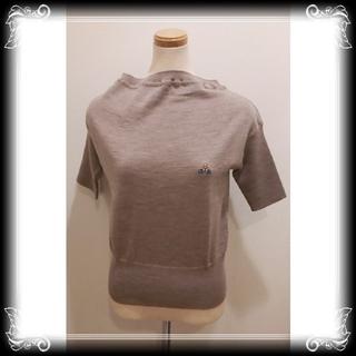 ヴィヴィアンウエストウッド(Vivienne Westwood)の希少 新品 イタリア製 ヴィヴィアン 半袖 定価¥72,360 Vivienn(ニット/セーター)
