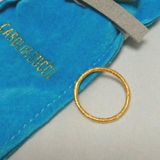 アッシュペーフランス(H.P.FRANCE)の専用出品 K18YG キャロリーナブッチ リング(リング(指輪))