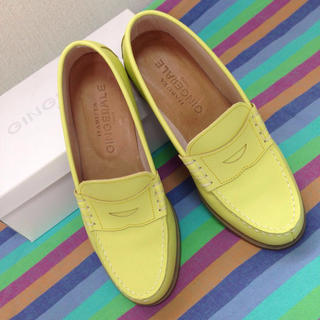 ジンジャーエール(GINGER ALE)のGINGERALE×HARUTAローファ(ローファー/革靴)