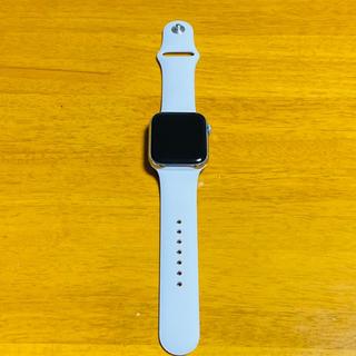 アップルウォッチ(Apple Watch)のApple Watch Series4 44mm ステンレススチール シルバー(スマートフォン本体)