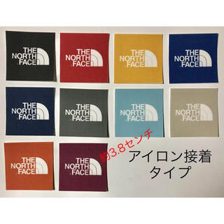 THE NORTH FACE - THE NORTH FACE ワッペン 中 10枚