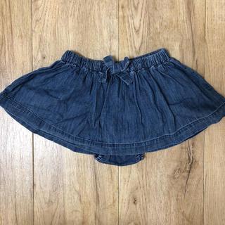 ベビーギャップ(babyGAP)のベビーギャップ デニムスカート 80(スカート)