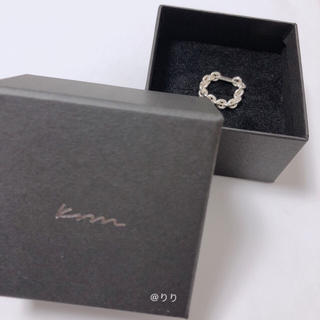 krm  PLATE CHAIN SILVER RING 4号(リング(指輪))