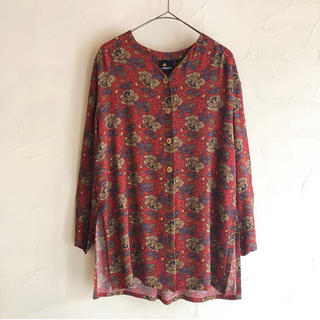 アメリヴィンテージ(Ameri VINTAGE)のsheep vintage  ペイズリーシャツ(シャツ/ブラウス(長袖/七分))