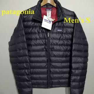 パタゴニア(patagonia)の新品 サイズS パタゴニア メンズ・ダウン・セーター ネイビー ダークパープル(ダウンジャケット)