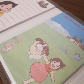アルプスの少女ハイジ パタパタメモ帳(キャラクターグッズ)