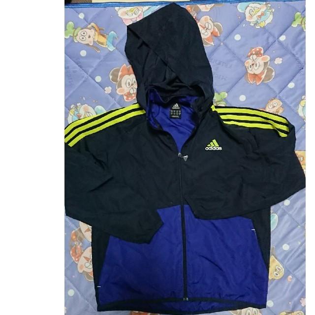 adidas(アディダス)のアディダス140 キッズ/ベビー/マタニティのキッズ服 男の子用(90cm~)(ジャケット/上着)の商品写真
