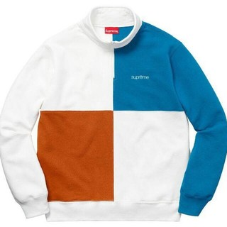 シュプリーム(Supreme)のS Supreme 18SS Color Blocked Half Zip(ショートパンツ)