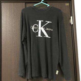 カルバンクライン(Calvin Klein)のCalvin Klein、長袖、Tシャツ、海外、古着、ヴィンテージ(Tシャツ/カットソー(七分/長袖))
