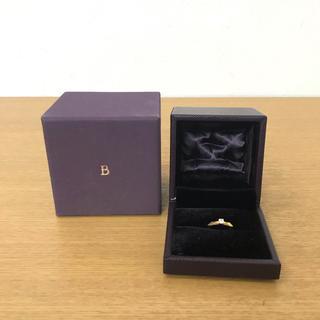 ブシュロン(BOUCHERON)のブシュロン ファセット ダイヤリング 指輪 K18YG ☆カルティエ アーカー(リング(指輪))