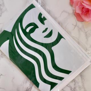 スターバックスコーヒー(Starbucks Coffee)の【新品】台湾スターバックス レジャーシート 女神様ロゴ ブルー 水色 韓国(収納/キッチン雑貨)
