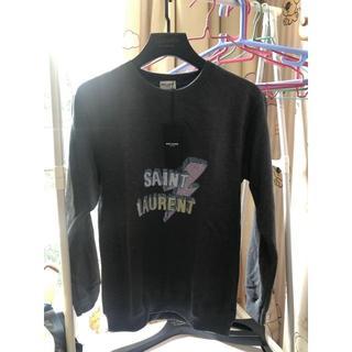 サンローラン(Saint Laurent)のトレーナー グレー 灰色 L(スウェット)