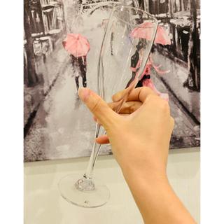 ヨンドシー(4℃)の4℃  ワイングラス ペア シャンパングラス(グラス/カップ)