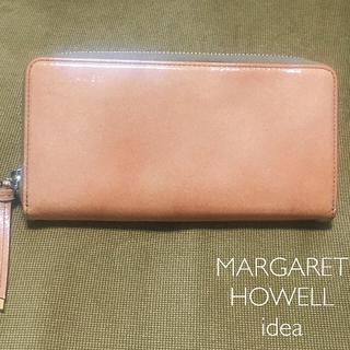 マーガレットハウエル(MARGARET HOWELL)のMARGARET HOWELL idea 長財布(財布)