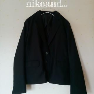 ニコアンド(niko and...)のニコアンド*ウールジャケット(テーラードジャケット)