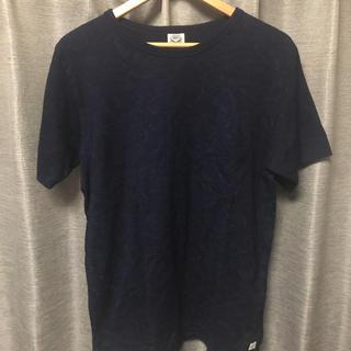 ジャーナルスタンダード(JOURNAL STANDARD)のJ.s. homestead 45rpm blue Tシャツ 花柄(Tシャツ/カットソー(半袖/袖なし))