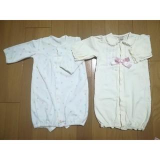 ナルミヤ インターナショナル(NARUMIYA INTERNATIONAL)の新生児 ツーウェイオール まとめ売り(カバーオール)