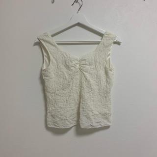 カスタネ(Kastane)のkastane デザイントップス(カットソー(半袖/袖なし))
