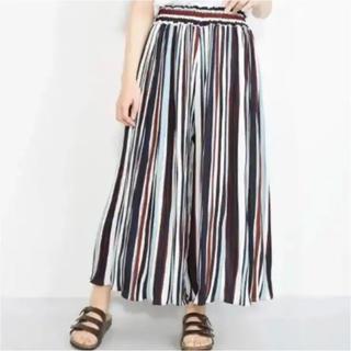 メルロー(merlot)の新品未使用♡ワイドパンツ スカートチョ(カジュアルパンツ)