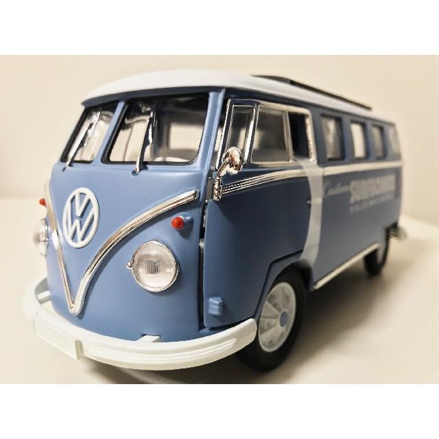 Volkswagen(フォルクスワーゲン)のGLグリーンライト/'62 VW Wagenワーゲン Busバス 1/18 エンタメ/ホビーのおもちゃ/ぬいぐるみ(ミニカー)の商品写真