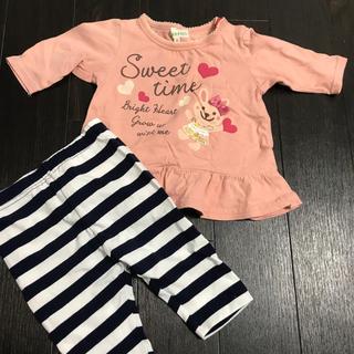 サンカンシオン(3can4on)のベビーTシャツ  パンツ(Tシャツ)