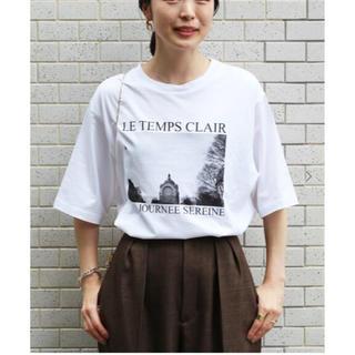 イエナ(IENA)のiena  paris photo Tシャツ(Tシャツ(半袖/袖なし))