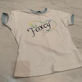 フォクシー(FOXEY)のFOXEY NEW YORK カットソー Tシャツ 38(カットソー(半袖/袖なし))