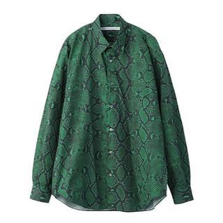 ジョンローレンスサリバン(JOHN LAWRENCE SULLIVAN)のJOHN LAWRENCE SULLIVAN PYTHON shirt(シャツ)