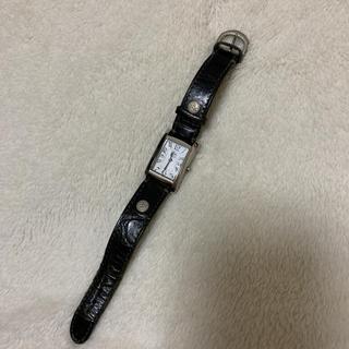 イルビゾンテ(IL BISONTE)の専用です。 イルビゾンテ  腕時計 ブラック(腕時計)