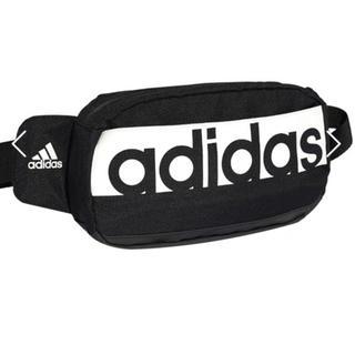 adidas - adidasボディーバッグ ウエストポーチ黒 値下げ不可