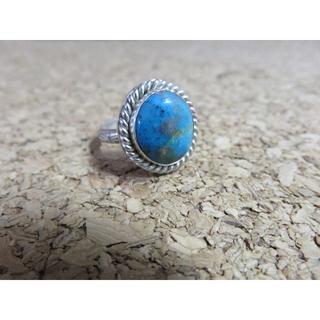 専門店購入品 ペルシャ産 ターコイズリング(リング(指輪))