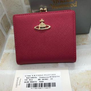 ヴィヴィアンウエストウッド(Vivienne Westwood)のヴィヴィアンウエストウッド 二つ折り 財布 ピンク 新品未使用(財布)