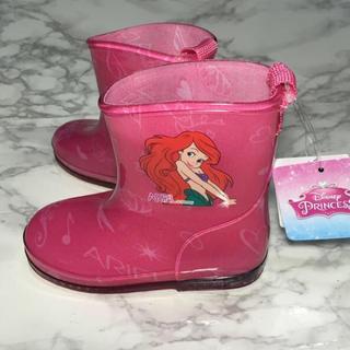 Disney - ラスト1点!即購入OK!新品タグ付 キッズ ディズニー アリエル 長靴 ピンク