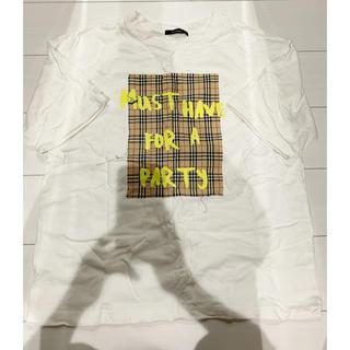 ダブルクローゼット(w closet)のプリント Tシャツ(Tシャツ/カットソー(半袖/袖なし))