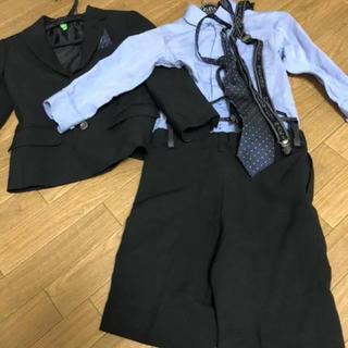 ヒロミチナカノ(HIROMICHI NAKANO)のヒロミチナカノ  スーツ 100 スーツセット 結婚式 男の子 冠婚葬祭 七五三(ドレス/フォーマル)