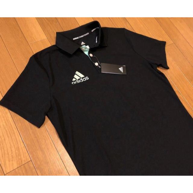 adidas(アディダス)の新品 ADIDAS COMBAT SPORTSメンズ半袖ポロシャツ Lアディダス メンズのトップス(ポロシャツ)の商品写真
