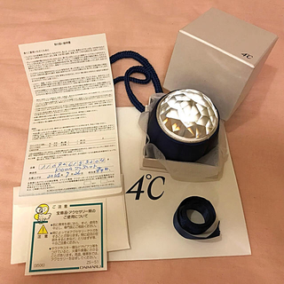 ヨンドシー(4℃)の4°C ブレスレット K10WG(ブレスレット/バングル)