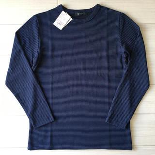 ナノユニバース(nano・universe)の【新品タグ付き】ナノユニバース 長袖Tシャツ Mサイズ(Tシャツ/カットソー(七分/長袖))