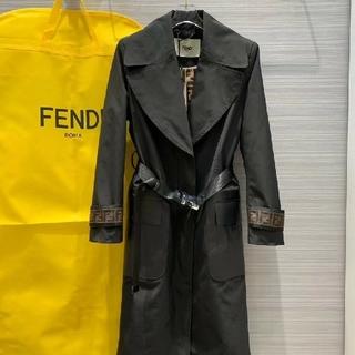 フェンディ(FENDI)のフェンディ ロングコート ジャケット(ロングコート)