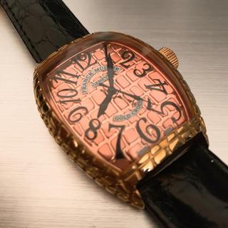 フランクミュラー(FRANCK MULLER)のフランクミューラー FRANCK MULLER GOLD CROCO(腕時計(アナログ))