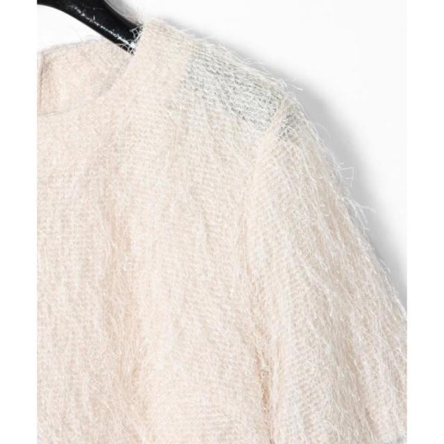 GRACE CONTINENTAL(グレースコンチネンタル)のフリンジトップ レディースのトップス(シャツ/ブラウス(半袖/袖なし))の商品写真